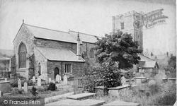 Conwy, Church c.1876