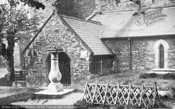 Photo of Conwy, Church Yard, 'we Are Seven' c.1930