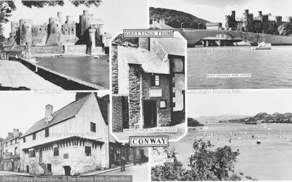 Photo of Conwy, Composite c.1960