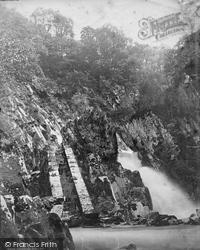Conwy, Falls c.1876