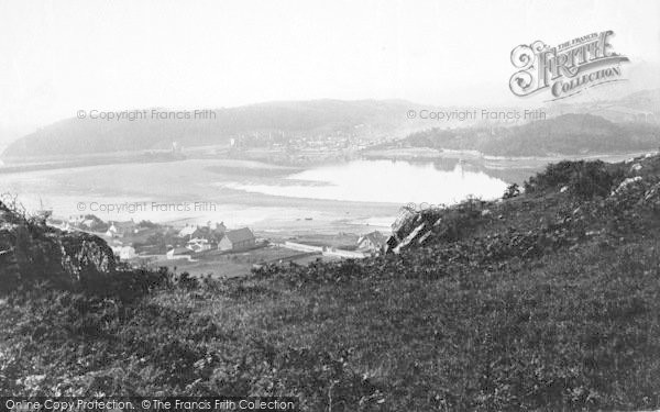 Photo of Conwy, From Deganwy 1891