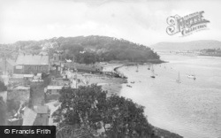 Conwy, From The Castle c.1950