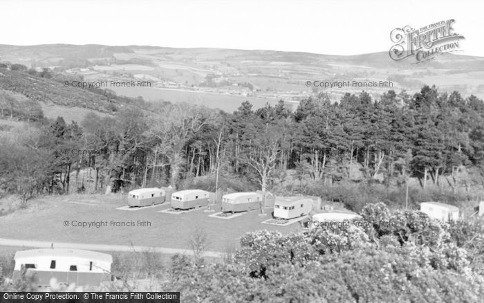 Photo of Conwy, Gorse Hill Caravan Park c.1960