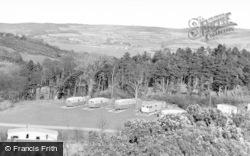 Conwy, Gorse Hill Caravan Park c.1960