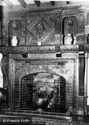 Conwy, Gorse Hill Country Club, Hall Fireplace c.1960