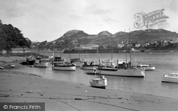 Conwy, Harbour c.1940