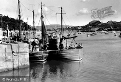 Conwy, Harbour c.1955