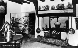 Conwy, Interior Of Old House, Aberconwy c.1955