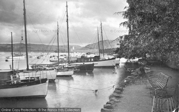 Photo of Conwy, Marine Walk 1930