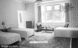 Conwy, No1 Bedroom, Berthlwyd Hall c.1960