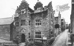 Conwy, Plas Mawr c.1936