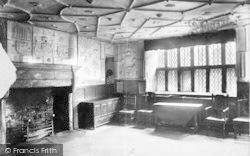 Conwy, Plas Mawr, Queen Elizabeth's Room 1898