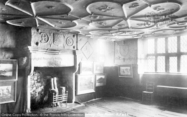 Photo of Conwy, Plas Mawr, Queen's Bedroom 1898