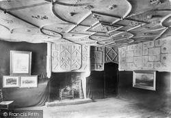 Conwy, Plas Mawr, Reception/Wynne Room 1898