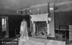 Conwy, Plas Mawr, The Haunted Room c.1930