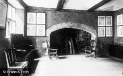Conwy, Plas Mawr, The West Kitchen c.1935