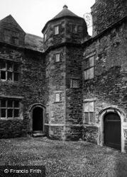 Conwy, Plas Mawr, Upper Courtyard 1898