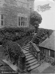 Conwy, Plas Mawr, Upper Courtyard 1933