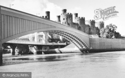 Conwy, Pont Conway And Castle c.1960