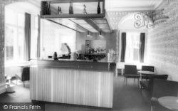 Conwy, The Bar, Berthlwyd Hall c.1960