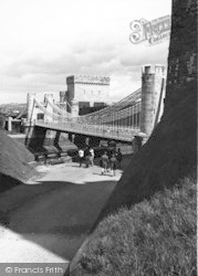 Conwy, The Bridge c.1960