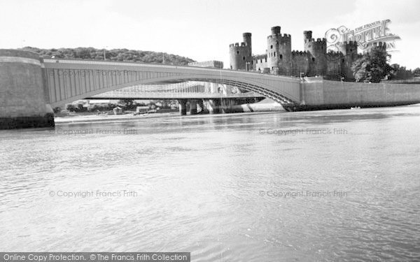 Photo of Conwy, The Bridges And Castle c.1965