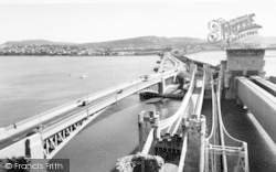 Conwy, The Bridges c.1965