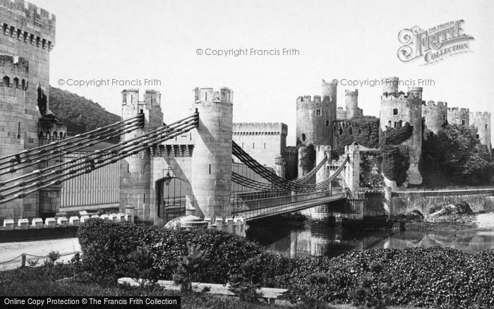 Photo of Conwy, The Castle 1891