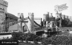 Conwy, the Castle 1891
