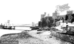 Conwy, The Castle And The Bridges 1906