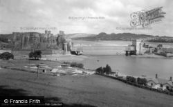 Conwy, The Castle c.1950