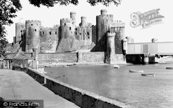 Conwy, The Castle c.1960