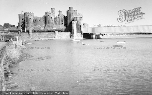 Photo of Conwy, The Castle c.1965