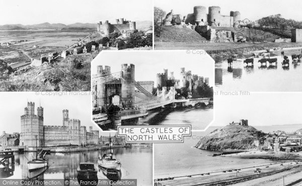 Photo of Conwy, The Castles Of North Wales c.1955