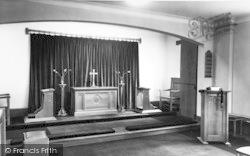 Conwy, The Chapel, Beechwood Court c.1955