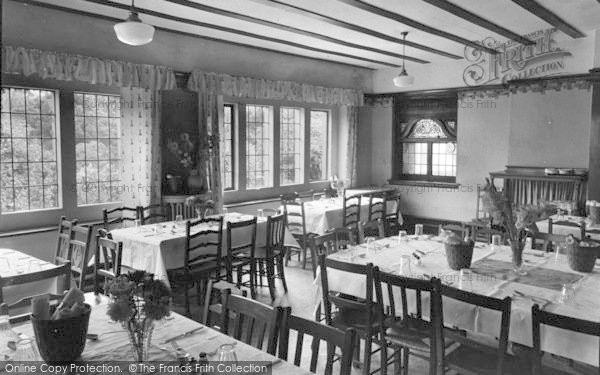Photo of Conwy, The Dining Hall, Beechwood Court c.1950