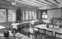 Conwy, The Dining Hall, Beechwood Court c.1950