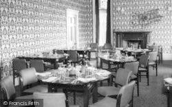 Conwy, The Dining Hall, Berthlwyd Hall c.1960