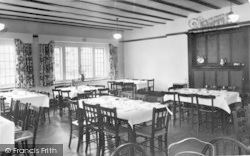 Conwy, The Dining Room, Beechwood Court c.1955