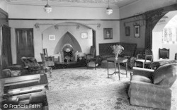 Conwy, The Drawing Room, Beechwood Court c.1950