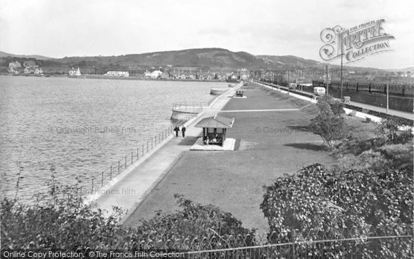 Photo of Conwy, The Embankment 1930
