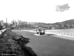 Conwy, The Embankment 1930