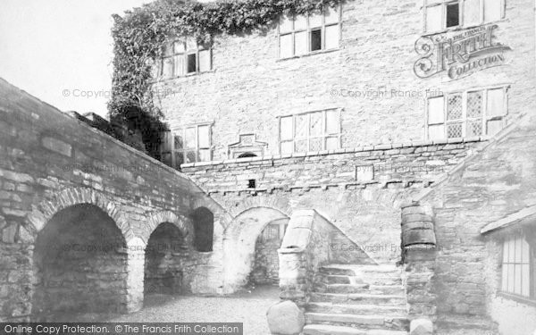 Photo of Conwy, The Entrance Court, Plas Mawr c.1880