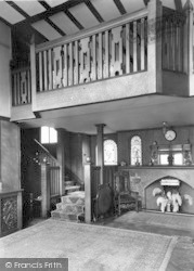 Conwy, The Hall, Beechwood Court c.1950