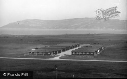 Conwy, The Holiday Fellowship Camp, The Morfa c.1935