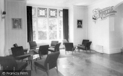 Conwy, The Lounge, Berthlwyd Hall c.1960