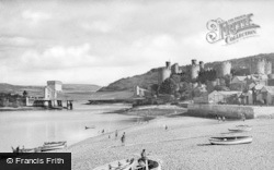Conwy, The Quay c.1950