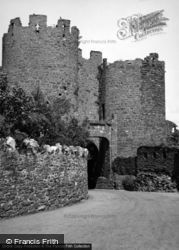 Conwy, The Town Walls 1952