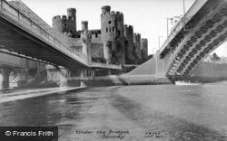 Conwy, Under The Bridges c.1960