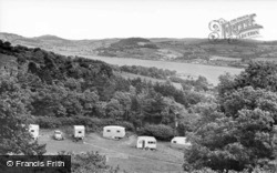 Conwy, View From Gorse Hill Caravan Park c.1960